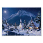 Weihnachtsdorf durch Richard-Brände Poster