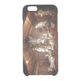 Weihnachtseinführungs-Jesus-Geburt Durchsichtige iPhone 6/6S Hülle