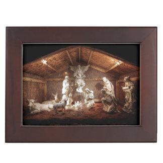 Weihnachtseinführungs-Jesus-Geburt Erinnerungsdose