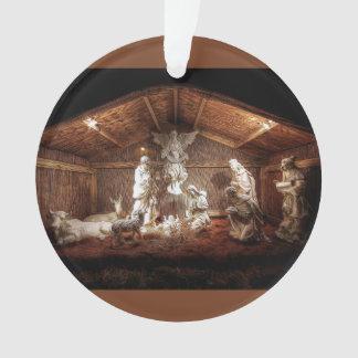Weihnachtseinführungs-Jesus-Geburt Ornament