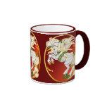 WeihnachtsEinhorn-Oval-Becher Tee Haferl