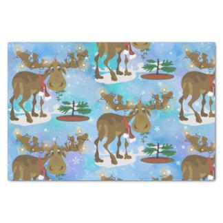 Weihnachtselche ~ seidenpapier