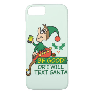 Weihnachtself-lustiger Entwurf iPhone 8/7 Hülle