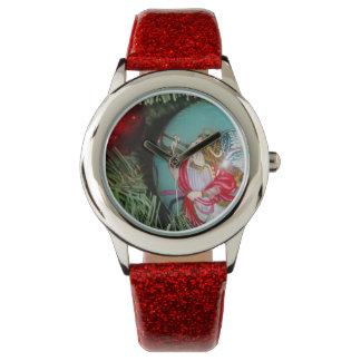 Weihnachtsengel - Weihnachtskunst - Armbanduhr