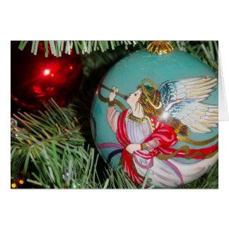 Weihnachtsengel - Weihnachtskunst - Karte