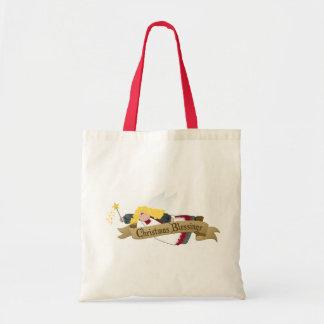 Weihnachtsengels-Einkaufen/Geschenk-Taschen
