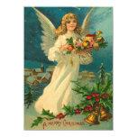 Weihnachtsengels-Karte 11,4 X 15,9 Cm Einladungskarte