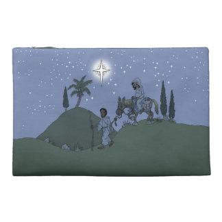 Weihnachtsentwurf auf Tasche