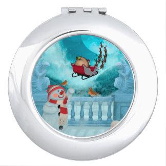 Weihnachtsentwurf, Weihnachtsmann Taschenspiegel