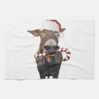 Weihnachtsesel - Sankt-Esel - Esel Sankt Handtuch