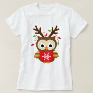 Weihnachtseule T-Shirt