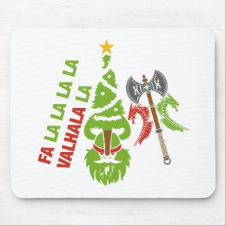 Weihnachtsfeiertag Vikings Walhall Mousepad