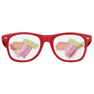Weihnachtsfeiertags-Band-Bonbon-Weihnachtsnahrung Partybrille