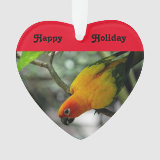Weihnachtsfeiertags-Papageien-Verzierung Ornament