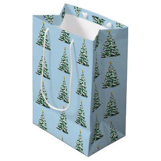 Weihnachtsfeiertags-Papier-Geschenk-Tasche Mittlere Geschenktüte
