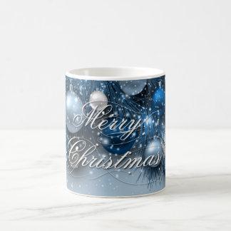 Weihnachtsfeiertags-Verzierungen - Blues Kaffeetasse