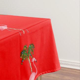 Weihnachtsflamingo Tischdecke