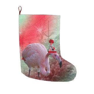 Weihnachtsflamingo-WeihnachtsStrumpf groß Großer Weihnachtsstrumpf