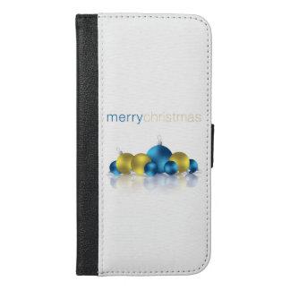 Weihnachtsflitter iPhone 6/6s Plus Geldbeutel Hülle