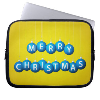Weihnachtsflitter Laptop Sleeve