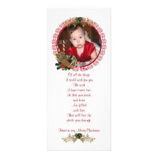 WeihnachtsFoto-Gestell-Karte Werbekarte