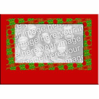 WeihnachtsFoto-Rahmen Acryl Ausschnitt