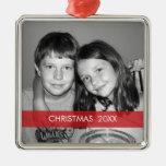 WeihnachtsFoto-Rahmen - modern Weihnachtsbaum Ornament