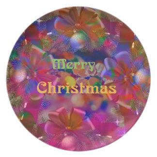 Weihnachtsfreude Teller