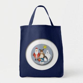 Weihnachtsfreunde Einkaufstasche