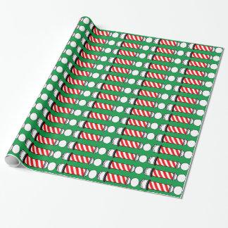 Weihnachtsfriseur Polen 2 Geschenkpapier