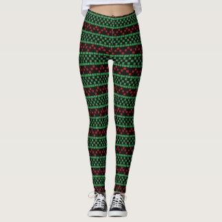 Weihnachtsgamaschen - kundengerechte leggings