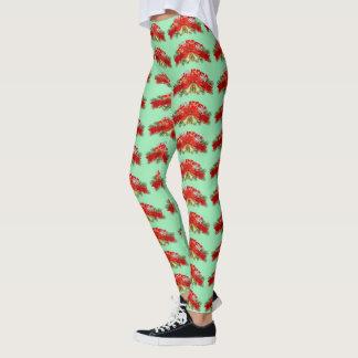 Weihnachtsgamaschen Leggings