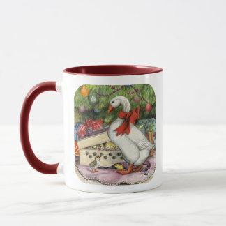 Weihnachtsgans Tasse