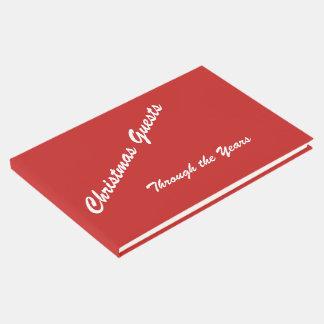 Weihnachtsgast-Buch Gästebuch