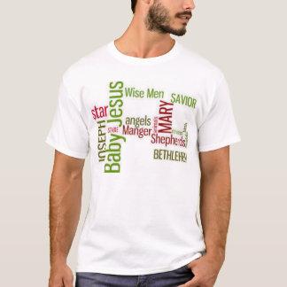 Weihnachtsgeburt von Jesus-T - Shirt