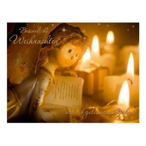 Weihnachtsgedicht Postkarte