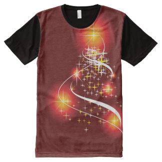 Weihnachtsgeist T-Shirt Mit Komplett Bedruckbarer Vorderseite