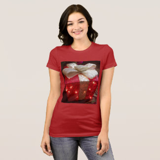 Weihnachtsgeschenk-Shirt der Frau T-Shirt