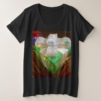 Weihnachtsgeschenk-Shirt der Frauen Große Größe T-Shirt
