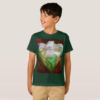 Weihnachtsgeschenk-Shirt der Kinder T-Shirt