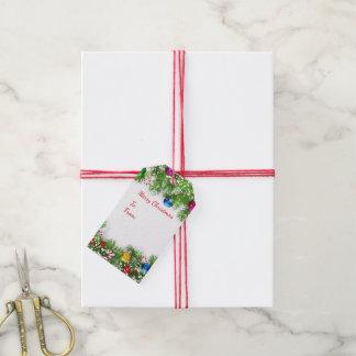 Weihnachtsgeschenk-Umbauten Geschenkanhänger