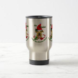 Weihnachtsgeschenke Airedales Terrier Reisebecher