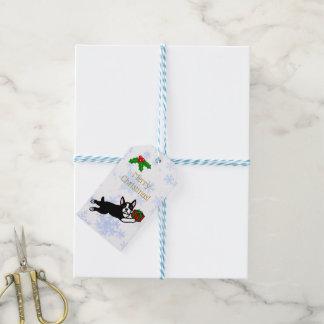 Weihnachtsgeschenke Bostons Terrier Geschenkanhänger