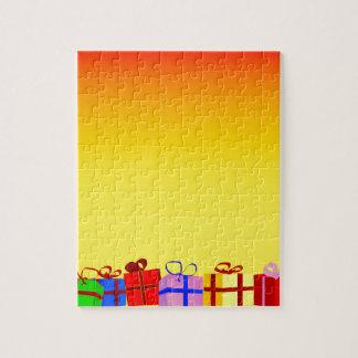 Weihnachtsgeschenke Puzzle