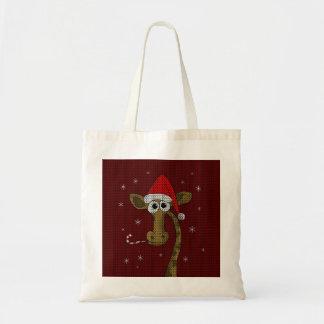Weihnachtsgiraffe Tragetasche