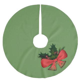 Weihnachtsglocken Polyester Weihnachtsbaumdecke