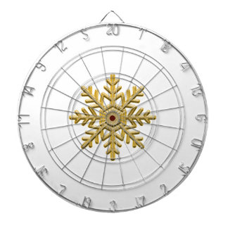 Weihnachtsgoldene noble Mode personalisiert Dartscheibe