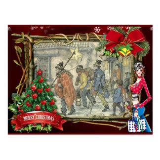 Weihnachtsgrüße Anton Pieck Postkarte