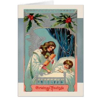 Weihnachtsgrüße für die neues Jahr-Karten Karte