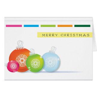 Weihnachtsgrußkarte Karte